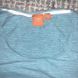 BOSS by Hugo Boss Blue Like Mew T Shirt